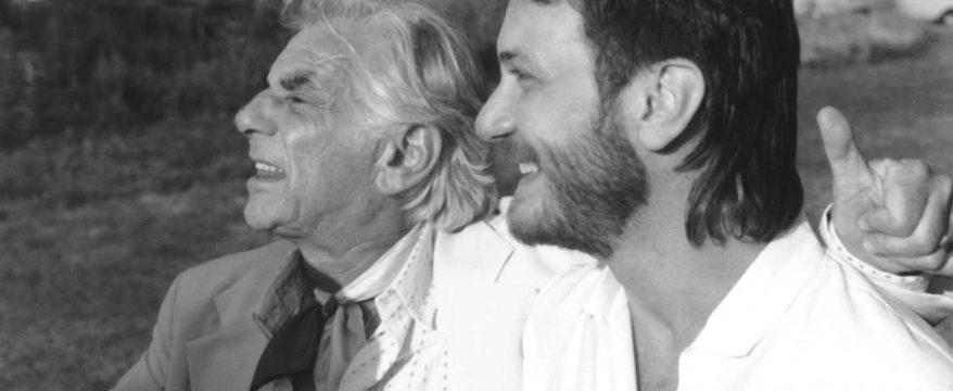 Leonard Bernstein and Aaron Stern